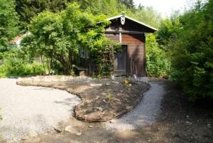 Hausgarten neu